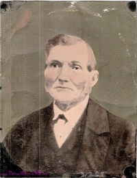 Image for Tintype Antique Color Ancestor Portrait Distinguished Gentleman with Muttonchops Sideburns Large Full-Plate 7 3/4-inches x 10-inches  <b><span style='color:red'>USPS PRIORITY MAIL SHIPPING INCLUDED – DOMESTIC ORDERS ONLY!</span></b><span style='color:purple'>