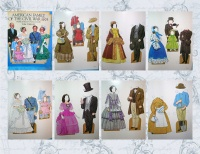 "Image for Civil War Paper Dolls Vintage 1985 Book ""American Family of the Civil War Era Paper Dolls in Full Color"" by Tom Tierney UNCUT <b><span style='color:red'>  *****FIRST CLASS SHIPPING INCLUDED – DOMESTIC ORDERS ONLY!*****  </span></b><span style='color:purple'>"