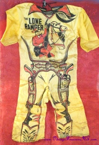 Image for Lone Ranger Vintage ca 1940s-1950s Wratner Corporation Ready-Made Children's Halloween Costume <b><span style='color:red'>  *****FIRST CLASS SHIPPING INCLUDED – DOMESTIC ORDERS ONLY!*****  </span></b><span style='color:purple'>