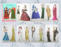 Image for Greta Garbo Paper Dolls in Full Color Vintage 1985 Tom Tierney Book UNCUT <b><span style='color:red'>  *****FIRST CLASS SHIPPING INCLUDED – DOMESTIC ORDERS ONLY!*****  </span></b><span style='color:purple'>