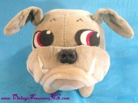 Image for Kamar Bulldog Vintage Japan 1967 Velvet Plush Stuffed Animal Poseable Toy Doll <b><span style='color:red'>  *****PRIORITY MAIL SHIPPING INCLUDED – DOMESTIC ORDERS ONLY!*****  </span></b><span style='color:purple'>