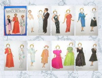 Image for Nancy Reagan Fashion Paper Dolls in Full Color Vintage 1983 Tom Tierney Book UNCUT  <b><span style='color:red'>  *****FIRST CLASS SHIPPING INCLUDED – DOMESTIC ORDERS ONLY!*****  </span></b><span style='color:purple'>
