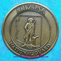 "Image for Arizona National Guard ""Excellence"" Medal-Challenge Coin with ""War Mother's"" Flag  <b><span style='color:red'>  *****FIRST CLASS SHIPPING INCLUDED – DOMESTIC ORDERS ONLY!*****  </span></b><span style='color:purple'>"