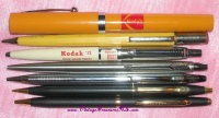 Image for Kodak Advertising Pens & Mechanical Pencils Lot of 7 Vintage ca 1950s-1970s    <b><span style='color:red'>  *****FIRST CLASS SHIPPING INCLUDED – DOMESTIC ORDERS ONLY!*****  </span></b><span style='color:purple'>