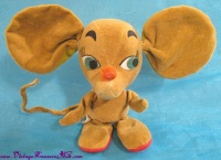 Image for Kamar Mouse Vintage 1964 Japan Velvet Plush Stuffed Animal Poseable Toy Doll  <b><span style='color:red'>  *****PRIORITY MAIL SHIPPING INCLUDED – DOMESTIC ORDERS ONLY!*****  </span></b><span style='color:purple'>