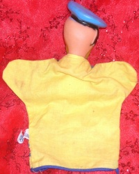 Image for Donald Duck Gund Hand Puppet Vintage ca 1960s-1970s Squeak Toy Walt Disney Productions <b><span style='color:red'>  *****PRIORITY MAIL SHIPPING INCLUDED – DOMESTIC ORDERS ONLY!*****  </span></b><span style='color:purple'>