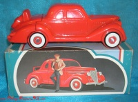 Image for Avon '36 Ford Model 68 Oland After Shave Vintage 1970s Red Antique Car Replica Bottle in Original Box   <b><span style='color:red'>  *****PRIORITY MAIL SHIPPING INCLUDED – DOMESTIC ORDERS ONLY!*****  </span></b><span style='color:purple'>