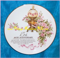 "Image for Avon 15th Anniversary ""The Avon Rose"" Avon Representative Salesperson's Award Plate Made in Japan 1995  <b><span style='color:red'>*****PRIORITY MAIL SHIPPING INCLUDED – DOMESTIC ORDERS ONLY!*****</span></b><span style='color:purple'>"