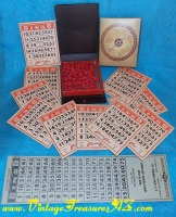 Image for BINGO Game Set Lowe's Pocket-sized Bookshelf of Games Series Vol. 522 Vintage 1942  <b><span style='color:red'>*****PRIORITY MAIL SHIPPING INCLUDED – DOMESTIC ORDERS ONLY!*****</span></b><span style='color:purple'>
