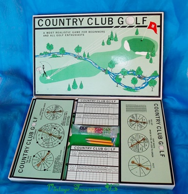 Image for <b><span style='color:purple'>   Country Club Golf Board Game Complete/Like New VERY RARE UNIQUE VERSION Novelty Realistic Golf Enthusiasts (T and D Industries Shore Center Sheltered Workshop Illinois)  </span></b><span style='color:purple'>   <b><span style='color:red'>***USPS STANDARD POST SHIPPING INCLUDED – DOMESTIC ORDERS ONLY!***</span></b><span style='color:purple'>
