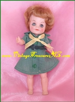 Image for Effanbee Junior Girl Scout (Scouts) Doll Vintage 1965  <b><span style='color:red'>*****FIRST CLASS MAIL SHIPPING INCLUDED – DOMESTIC ORDERS ONLY!*****</span></b><span style='color:purple'>