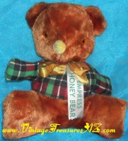 "Image for Empress Honey Bear ""Blinky"" (Blinkie) Safeway Stores Vintage ca 1950s-1960s Promotional Advertising Premium Giveaway Stuffed Animal Teddy Bear Plush Toy <b><span style='color:red'>  *****PRIORITY MAIL SHIPPING INCLUDED – DOMESTIC ORDERS ONLY!*****  </span></b><span style='color:purple'>"