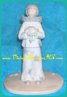 "Image for Flavia Weedn (Weeden) ""The Clown - Making Believe"" Roman, Inc. Japan Porcelain Figurine/Statue  <b><span style='color:red'>*****PRIORITY MAIL SHIPPING INCLUDED – DOMESTIC ORDERS ONLY!*****</span></b><span style='color:purple'>"