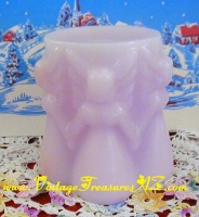Image for Guardian Angel -Angels Girls Holding Hands HUGE Vintage Lavender Purple Decorative Novelty Candle Unused <b> </span></b><span style='color:purple'><b><span style='color:red'>*****PRIORITY MAIL SHIPPING INCLUDED – DOMESTIC ORDERS ONLY!*****</span></b><span style='color:purple'>