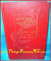 Image for A Guide Book of United States Coins - 18th Edition Red Book Vintage 1965 Price & Identification Guide <b><span style='color:red'>  *****MEDIA MAIL SHIPPING INCLUDED – DOMESTIC ORDERS ONLY!*****  </span></b><span style='color:purple'>