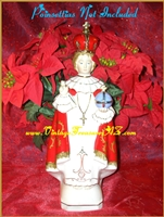 Image for Infant of Prague Artmark Japan Vintage ca 1960s Figural Christmas Planter Statue  <b><span style='color:red'>*****PRIORITY MAIL SHIPPING INCLUDED – DOMESTIC ORDERS ONLY!*****</span></b><span style='color:purple'>