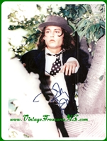 "Image for Johnny Depp ""Benny & Joon"" Movie Scene Hand-Signed, Autographed (Autograph) Color Photograph/Photo as his ""Buster Keaton/Charlie Chaplin-esque Eccentric Character Perched in a Tree"" (FAMOUS SCENE) with COA  <b><span style='color:red'>*****FIRST CLASS SHIPPING INCLUDED – DOMESTIC ORDERS ONLY!*****</span></b><span style='color:purple'>"