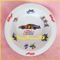 "Image for Kellogg's (Kellogg) ""Official Breakfast Food of NASCAR"" & ""Got Milk"" Campaign Cereal Brands Advertising Mascots & Logos Breakfast Bowl 2002  <b><span style='color:red'>*****PRIORITY MAIL SHIPPING INCLUDED – DOMESTIC ORDERS ONLY!*****</span></b><span style='color:purple'>"