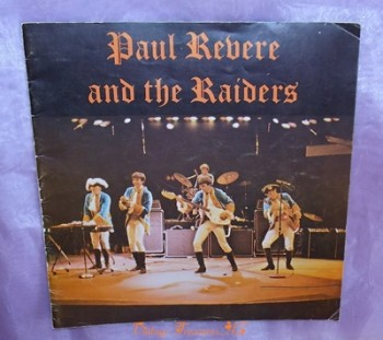 Image for <b><span style='color:purple'> Paul Revere & the Raiders Band 1960s Concert Program Souvenir Tour Booklet (24 pgs - Lots of Photos)      </span></b><span style='color:purple'>    <b><span style='color:red'>*****USPS FIRST CLASS SHIPPING INCLUDED – DOMESTIC ORDERS ONLY!*****</span></b><span style='color:purple'>
