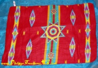 Image for Blanket/Throw/Wall Hanging from the Children of St. Labre Indian School Traditional Native American Motif for Pets/Pet (Dogs/Dog & Cats/Cat), People, Babies/Baby (Receiving Blanket), Travel, Chairs, Sofas, Beds, Lap  <b><span style='color:red'>*****FIRST CLASS SHIPPING INCLUDED – DOMESTIC ORDERS ONLY!*****</span></b><span style='color:purple'