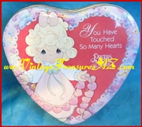 "Image for Precious Moments ""You Have Touched So Many Hearts"" Romantic Valentine's Day Collectible Candy Tin <b><span style='color:red'>  *****PRIORITY MAIL SHIPPING INCLUDED – DOMESTIC ORDERS ONLY!*****  </span></b><span style='color:purple'>"