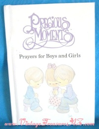 Image for Precious Moments Prayers for Boys & Girls Vintage 1989 Book Illustrated by Sam Butcher, with Prayers by Debbie Butcher Wiersma <b><span style='color:red'>  *****FIRST CLASS SHIPPING INCLUDED – DOMESTIC ORDERS ONLY!*****  </span></b><span style='color:purple'