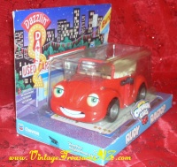 Image for Rudy Ragtop Red Volkswagen Beetle/VW Bug 1999 The Chevron Cars Techron Advertising Collectible Car Toy in Decorative Box (MINT/NEVER OPENED)  <b><span style='color:red'>*****PRIORITY MAIL SHIPPING INCLUDED – DOMESTIC ORDERS ONLY!*****</span></b><span style='color:purple'>