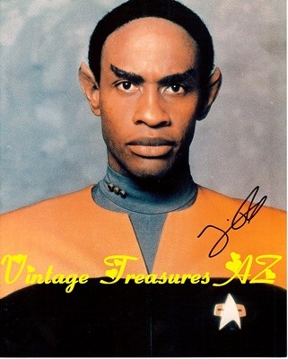 Image for <b><span style='color:purple'> Star Trek Voyager Tim Russ Tuvok Autographed/Hand-signed Photograph/Photo Studio Publicity Still Color Glossy (STVOY Lieutenant Commander Tuvok) </span></b><span style='color:purple'>  <b><span style='color:red'> USPS FIRST CLASS SHIPPING INCLUDED – DOMESTIC ORDERS ONLY!</span></b><span style='color:purple'>