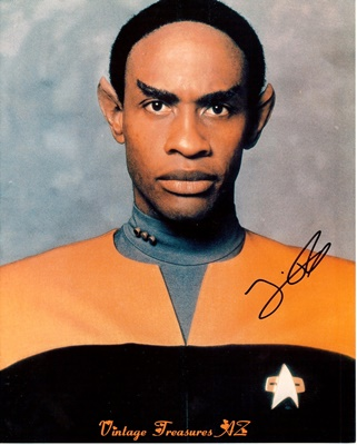 Image for <b><span style='color:purple'> Star Trek Voyager Tim Russ Tuvok Autographed/Hand-signed Photograph/Photo Studio Publicity Still Color Glossy (STVOY Lieutenant Commander Tuvok) </span></b><span style='color:purple'>  <b><span style='color:red'> ***USPS FIRST CLASS SHIPPING INCLUDED – DOMESTIC ORDERS ONLY!***</span></b><span style='color:purple'>