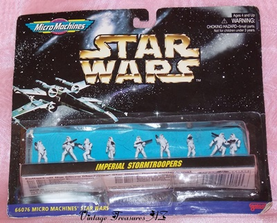 Image for <b><span style='color:purple'>   Star Wars Micro Machines Imperial Stormtroopers Galoob Miniature Action Figures Collection Set #66076 1996 (new in factory sealed packaging) </span></b><span style='color:purple'>   <b><span style='color:red'>***USPS FIRST CLASS SHIPPING INCLUDED – DOMESTIC ORDERS ONLY!***</span></b><span style='color:purple'>