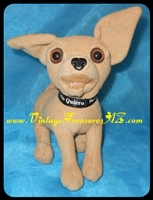 "Image for Taco Bell Restaurants ""Yo Quiero Taco Bell"" Talking Chihuahua Dog Applause Stuffed Animal Plush Toy Advertising Premium ca 1997-1999  <b><span style='color:red'>*****PRIORITY MAIL SHIPPING INCLUDED – DOMESTIC ORDERS ONLY!*****</span></b><span style='color:purple'>"