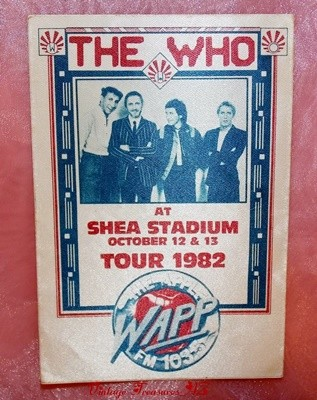 Image for <b><span style='color:purple'> The Who Cloth Decal Backstage Pass Concert Souvenir WAPP FM Radio Station Farewell Tour 1982 Shea Stadium October 12 & 13 Promotional UNUSED </span></b><span style='color:purple'>   <b><span style='color:red'>***USPS FIRST CLASS SHIPPING INCLUDED – DOMESTIC ORDERS ONLY!***</span></b><span style='color:purple'>