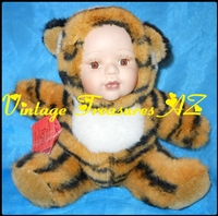 "Image for Tigre (Tiger) Show-Stoppers, Inc. ""Born to Be Wild"" Series Florence ""Flossie"" Maranuk Limited Edition (? Retired) Porcelain Artist's Doll & Original Hang Tags <b><span style='color:red'>*****PRIORITY MAIL SHIPPING INCLUDED – DOMESTIC ORDERS ONLY!*****</span></b><span style='color:purple'>"