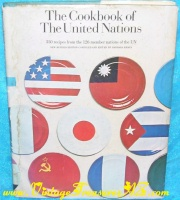 Image for The Cookbook of the United Nations Vintage 1970 International Recipes Cook Book  <b><span style='color:red'>*****MEDIA MAIL SHIPPING INCLUDED – DOMESTIC ORDERS ONLY!*****</span></b><span style='color:purple'>