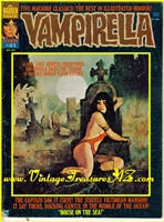 Image for Vampirella Warren Magazine Vampi #41 April, 1975 Sexy Female Vampire Vintage Horror/Science Fiction (Sci Fi) Comic Book  <b><span style='color:red'>*****FIRST CLASS SHIPPING INCLUDED – DOMESTIC ORDERS ONLY!*****</span></b><span style='color:purple'>