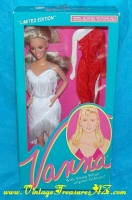 "Image for Vanna White ""Limited Edition"" Home Shopping Club (HSC) 11 ½-inch Celebrity Fashion Doll #007 1990 Mint-in-Box (includes Accessories & 2nd Outfit)  <b><span style='color:red'>*****PRIORITY MAIL SHIPPING INCLUDED – DOMESTIC ORDERS ONLY!*****</span></b><span style='color:purple'>"
