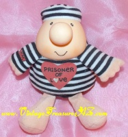 "Image for <b><span style='color:purple'> Ziggy ""Prisoner of Love"" 1993 American Greetings Corp. Valentine's Day Animation Comic Strip Cartoon Character Stuffed Plush Toy </span></b><span style='color:purple'>   <b><span style='color:red'>*****USPS FIRST CLASS SHIPPING INCLUDED – DOMESTIC ORDERS ONLY!*****</span></b><span style='color:purple'>"