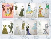 Image for Judy Garland Paper Dolls in Full Color Vintage 1982 Tom Tierney Book UNCUT  <b><span style='color:red'>  *****FIRST CLASS SHIPPING INCLUDED – DOMESTIC ORDERS ONLY!*****  </span></b><span style='color:purple'>
