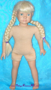 Image for Heidi Ott Faithful Friends Blonde Playmates Doll (? Beth or ? Maya) <b><span style='color:red'>  *****PARCEL POST SHIPPING INCLUDED – DOMESTIC ORDERS ONLY!*****  </span></b><span style='color:purple'>